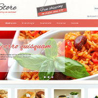 Wordpress Free Theme - Food