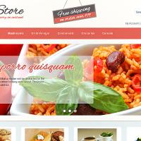 Templatemela Wordpress Theme: Food