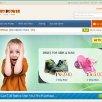 Templatemela Magento Template: Kids Booker