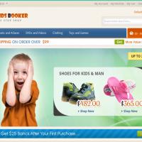 Templatemela Magento Template: Kids Booker