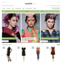 Templatemela Prestashop Template: Fashion Store