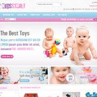 Templatemela Magento Template: Kids Store Magento Template