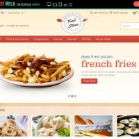 Templatemela Opencart Template: Food Store OpenCart Template