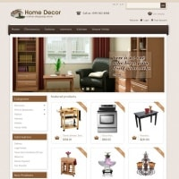 Templatemela Prestashop Template: Home Decor