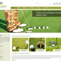 Templatemela Wordpress Theme: Golf Wordpress Theme