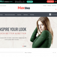 Templatemela Prestashop Template: Max Shop best selling Theme