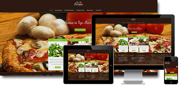 Lyn recipes joomla template primer templates joomla template lyn recipes forumfinder Images