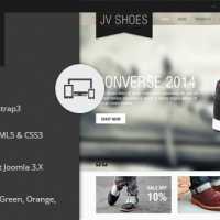 Joomla Premium Template - JV Shoes