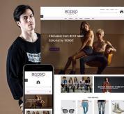 Webtet Prestashop Template: Modno - Clothing and Fashion Store. Theme for Prestashop