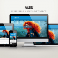 Joomla Templates: Kallos Multipurpose Template for Joomla 3.x - FREE