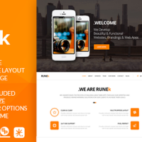 TEJASPATEL Joomla Template: Runek - Multipurpose and Responsive Joomla theme