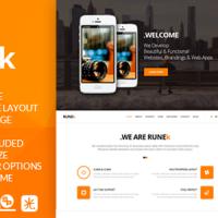 TEJASPATEL Joomla Template: Runek - Multipurpose and Responsive Joomla theme