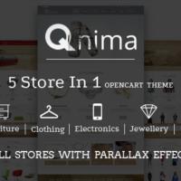 TEJASPATEL Opencart Template: Qnima – Versatile & Responsive Opencart Theme