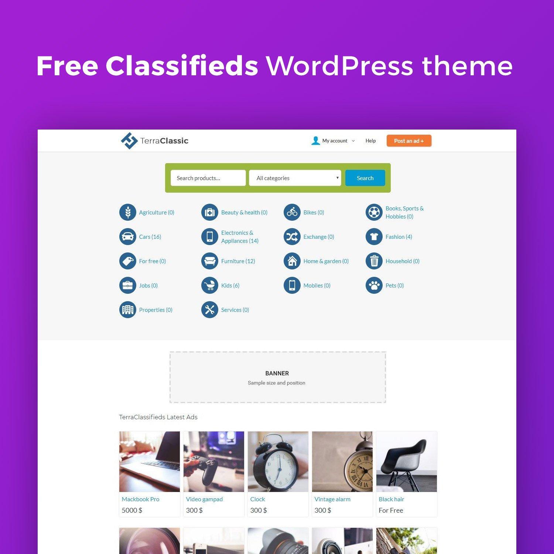 Wordpress Theme: TerraClassic