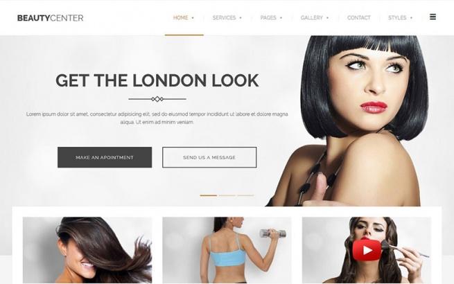 Wordpress Theme: Beauty Center & Wellness WordPress Theme