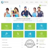 Wordpress Themes: Cleaning Company Business WordPress Theme