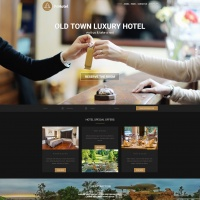 Wordpress Free Theme - Hotel WordPress Theme