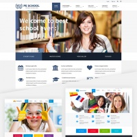 PixelEmu Wordpress Theme: PE School