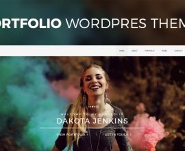 PixelEmu Wordpress Theme: Portfolio WordPress Theme