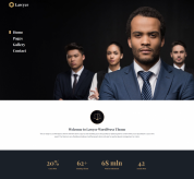 PixelEmu Wordpress Theme: Lawyer WordPress theme