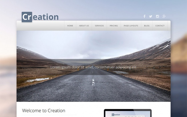 Wordpress Theme: Creation