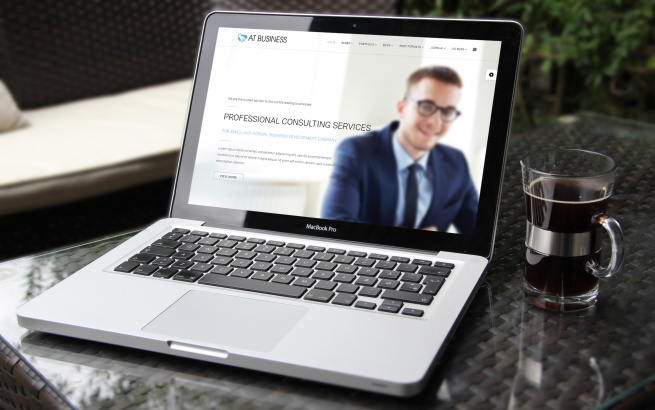Joomla Template: AT Business – Free Corporation / Business Joomla template