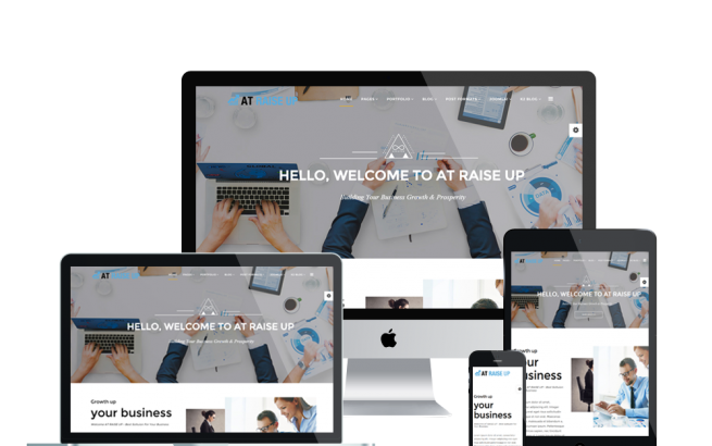 Joomla Template: AT Raise Up – Free Corporation / Pro Business Joomla template
