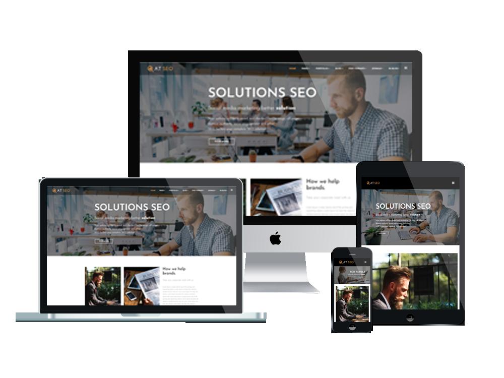 Joomla Template: AT SEO Onepage – Free Single Page Responsive Marketing Joomla Template