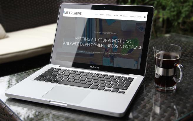 Joomla Template: AT Creative Onepage – Free Joomla template