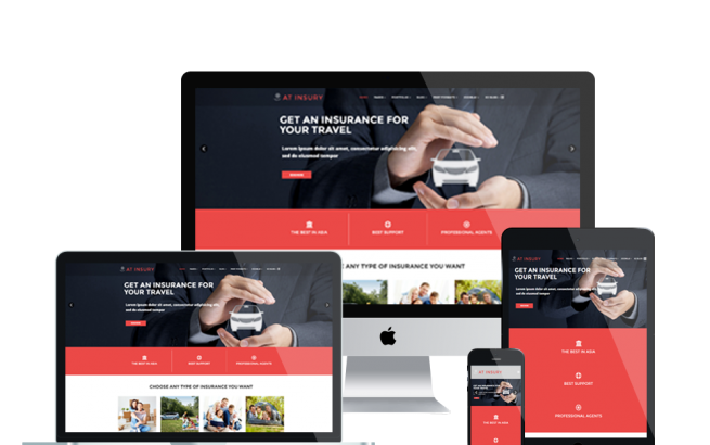 Joomla Template: AT INSURY – FREE RESPONSIVE INSURANCE JOOMLA TEMPLATE