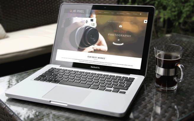 Joomla Template: AT Pixel – Free Photography Joomla Template
