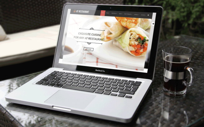 Joomla Template: AT Restaurant – Free Food Order / Restaurant Joomla Template