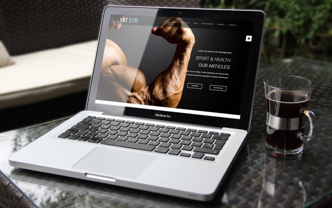 Joomla Template: AT Gym Onepage – Free Joomla template