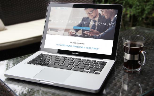 Joomla Template: AT Brand Onepage – Free Joomla template