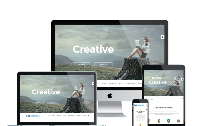 Joomla Template: AT Services – Free Business / Service Joomla template