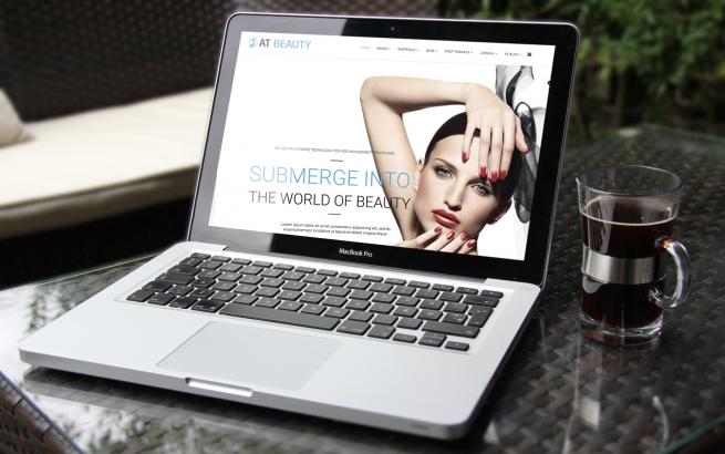 Joomla Template: AT Beauty – Free Spa / Beauty Joomla template