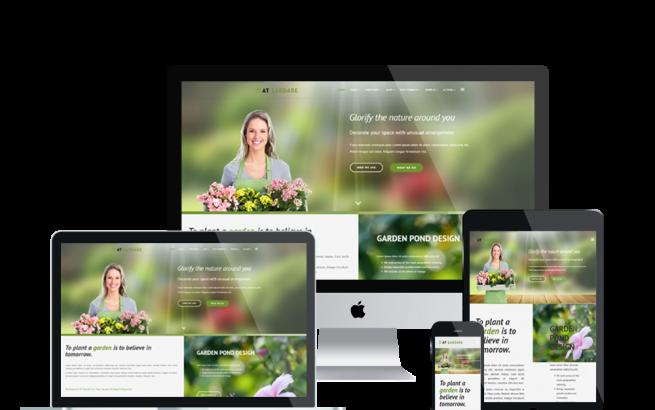 Joomla Template: AT Gardare – Free Responsive Garden Joomla template