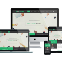 agethemes Joomla Template: AT Personal – Profile / Personal Joomla Template