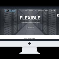 agethemes Joomla Template: AT Cloud Onepage – Free Server /Joomla template