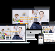 Joomla Templates: AT Psycho Onepage – Free Single Page Responsive Psychotherapy Website Templates