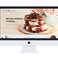 Joomla Free Template - AT Bakery Onepage – Free Bread Store /Joomla template