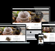 Joomla Templates: AT Tea Onepage – Free Single Page Responsive Tea Website template