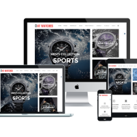 agethemes Joomla Template: AT Watches Shop – Free Watches Online Store Joomla template