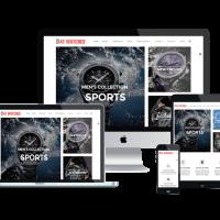 agethemes Joomla Template: AT Watches Shop – Free Watches Online Store Joomla template