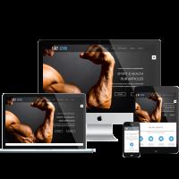 agethemes Joomla Template: AT Gym – Fitness / Gym Joomla template