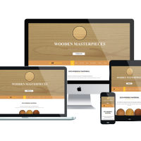 agethemes Joomla Template: AT WOODUS – Free Wooden Industrial Joomla Template.