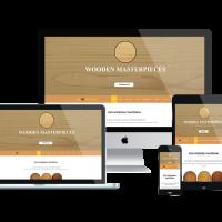 agethemes Joomla Template: AT WOODUS – Free Wooden Industrial Joomla Template.