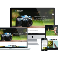 agethemes Joomla Template: AT Gallery – Photography / Image Gallery Joomla Template