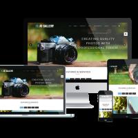 agethemes Joomla Template: AT Gallery – Photography / Image Gallery Joomla Template
