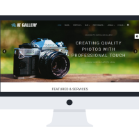 agethemes Joomla Template: AT Gallery Onepage – Photography / Joomla Template